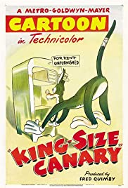 King-Size Canary Poster
