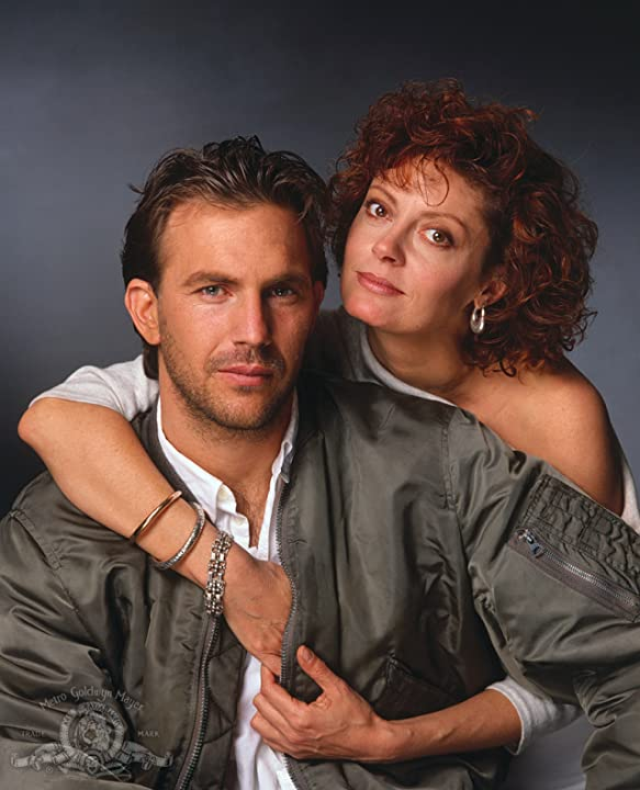 Kevin Costner and Susan Sarandon in Bull Durham (1988)