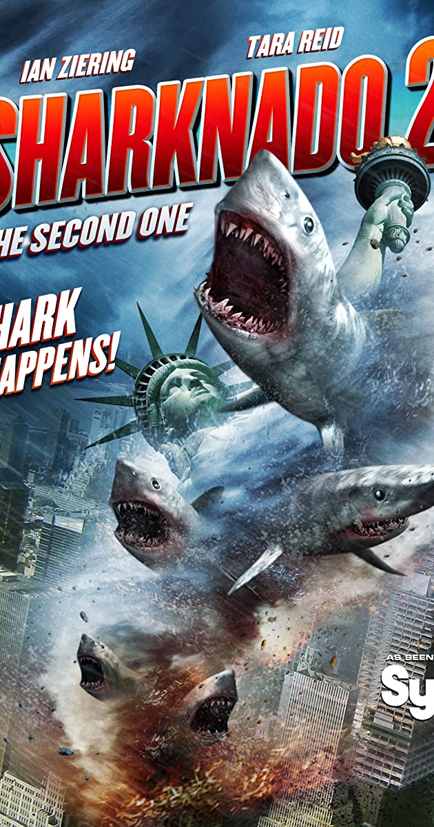 Sharknado 2: The Second One (2014) Online