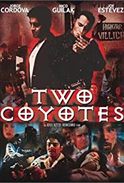 Two Coyotes Poster