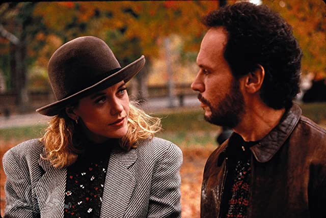 Meg Ryan and Billy Crystal in When Harry Met Sally... (1989)
