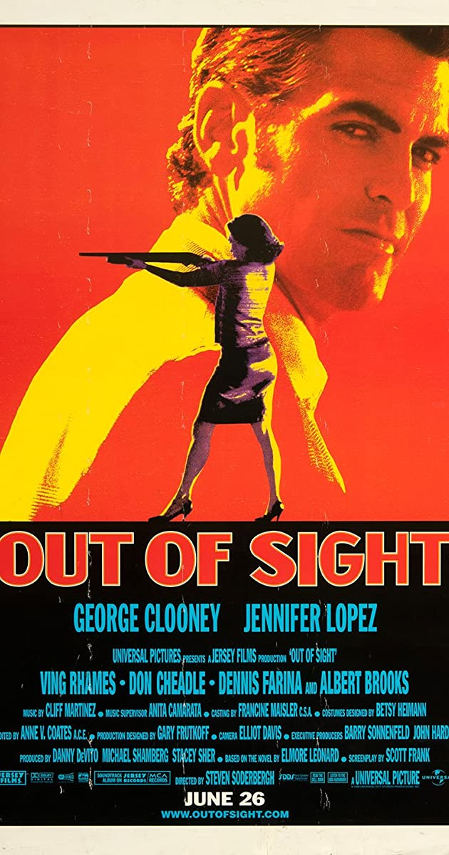 Dingti iš akių / Out of Sight (1998)