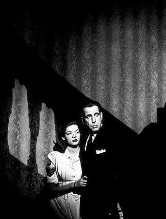 Humphrey Bogart and Lauren Bacall in