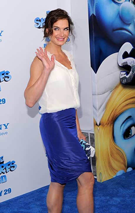 Brooke Shields at The Smurfs (2011)