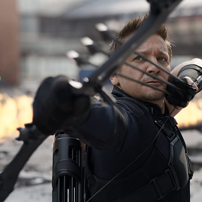 Jeremy Renner in Captain America: Civil War (2016)