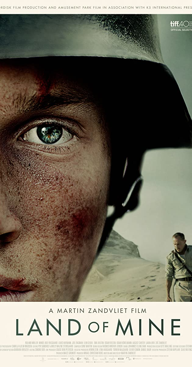 Po smėliu / Land of Mine (2015) Online