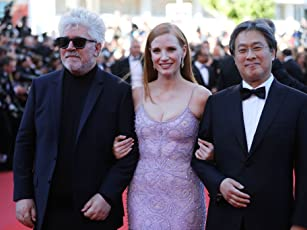 Pedro Almodóvar, Chan-wook Park, and Jessica Chastain