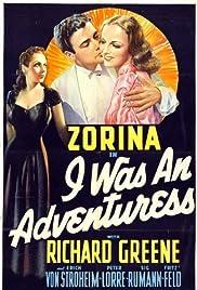 I Was an Adventuress(1940) Poster - Movie Forum, Cast, Reviews