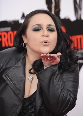 Nikki Blonsky at an event for From Paris with Love (2010)