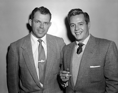 Marty Hill and Desi Arnaz 01-31-1953