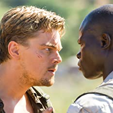 Leonardo DiCaprio and Djimon Hounsou in Blood Diamond (2006)