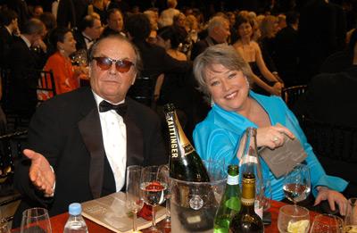 Jack Nicholson and Kathy Bates