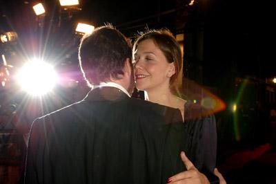 Maggie Gyllenhaal and Peter Sarsgaard at Jarhead (2005)