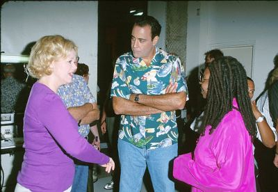 Whoopi Goldberg, Brad Garrett, and Caroline Rhea at Hollywood Squares (1998)