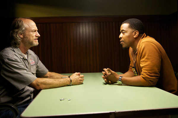 Russell Hornsby and Russell Hodgkinson in Grimm (2011)