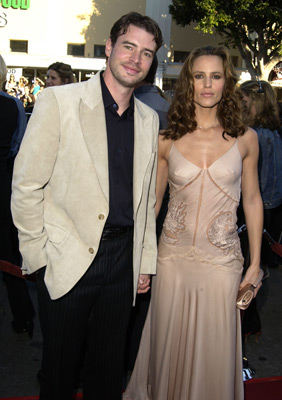 Scott Foley and Jennifer Garner at Daredevil (2003)