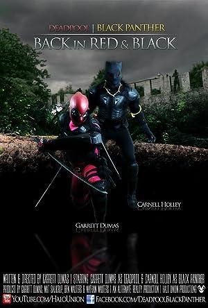 DeadPool Black Panther Back in Red & Black (2014)