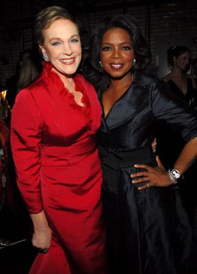 Julie Andrews and Oprah Winfrey