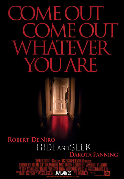 Hide and Seek BluRay