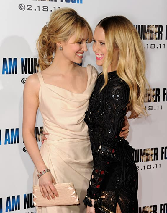 Dianna Agron and Teresa Palmer at an event for I Am Number Four (2011)