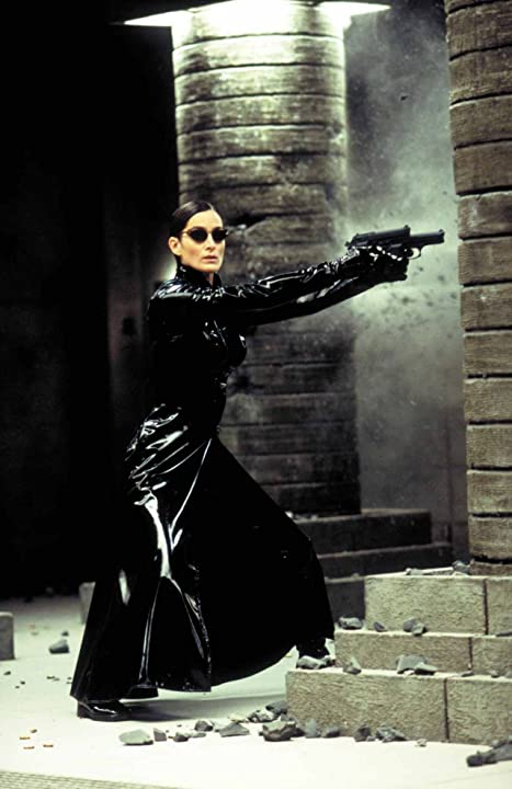 Carrie-Anne Moss in The Matrix Revolutions (2003)