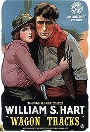 Wagon Tracks Poster