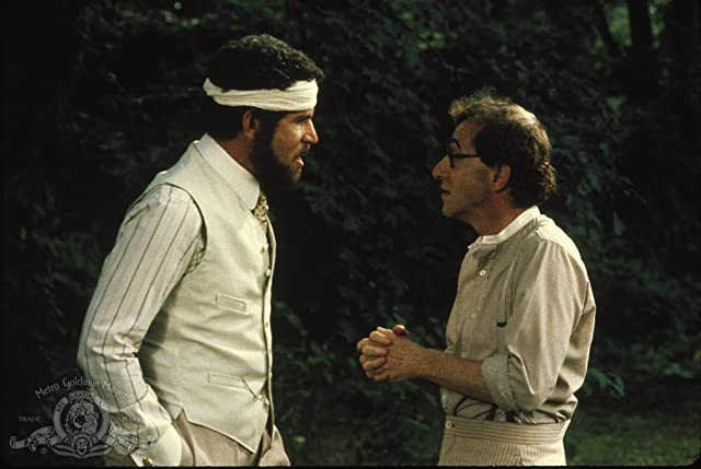 Woody Allen and Tony Roberts in A Midsummer Night's Sex Comedy (1982)