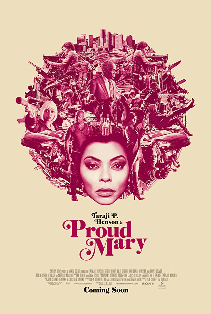 Proud Mary movie poster thumbnail link to detail view