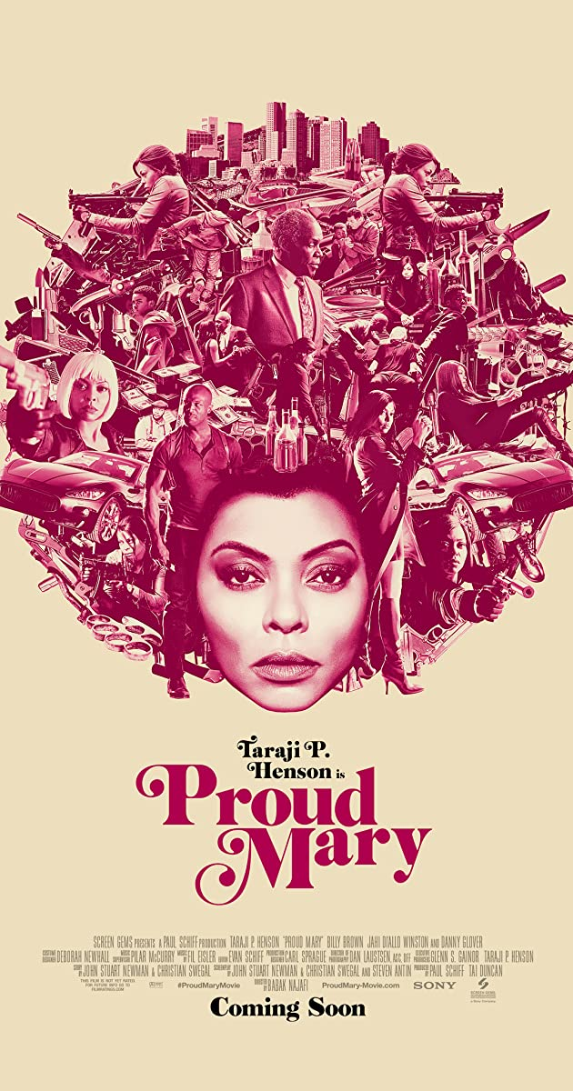 Image result for proud mary movie poster