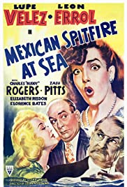 Mexican Spitfire at Sea Poster