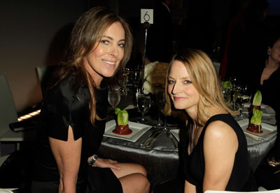 Jodie Foster and Kathryn Bigelow