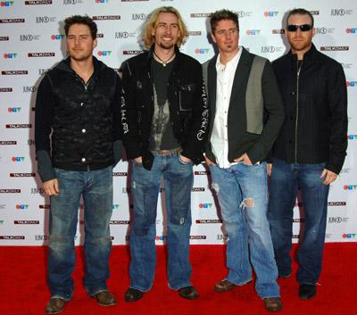 Nickelback at The 35th Annual Juno Awards (2006)