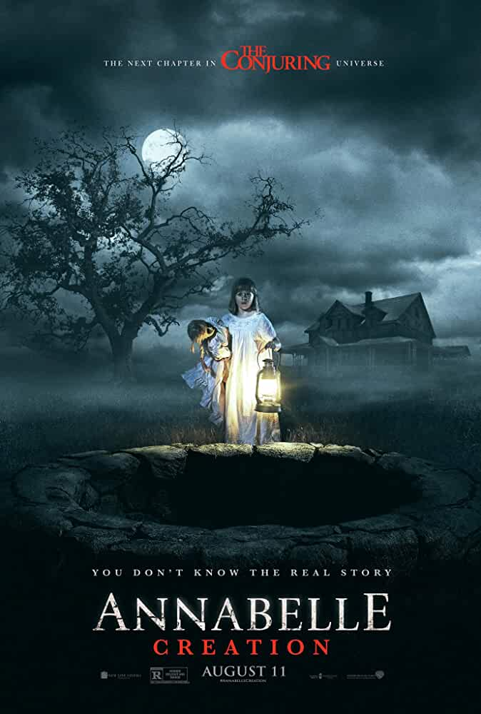 Poster Annabelle Creation (2017) Full Movie Download Dual Audio Hindi Free 720p