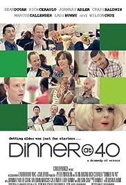 Dinner at 40 Poster