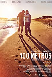 100 metros Poster