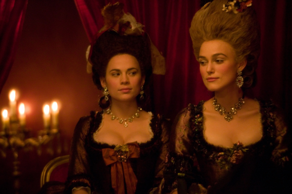 Keira Knightley and Hayley Atwell in The Duchess (2008)
