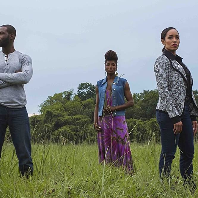 Dawn-Lyen Gardner, Rutina Wesley, and Kofi Siriboe in Queen Sugar (2016)