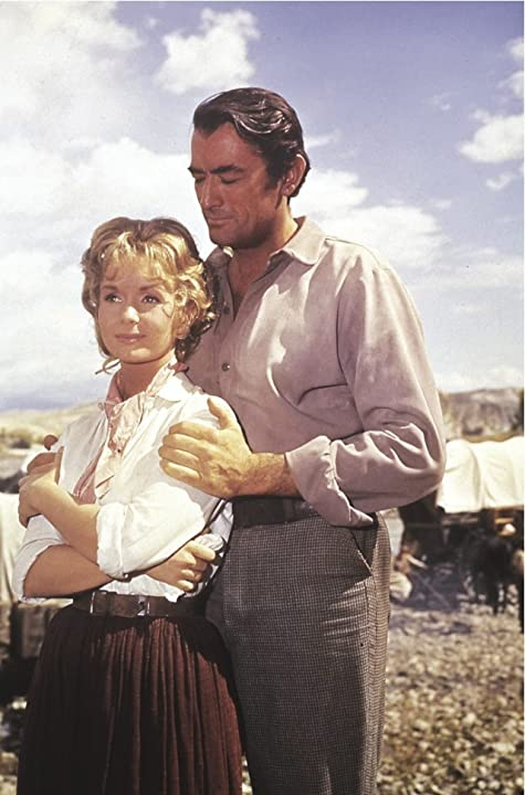 Gregory Peck and Debbie Reynolds in How the West Was Won (1962)