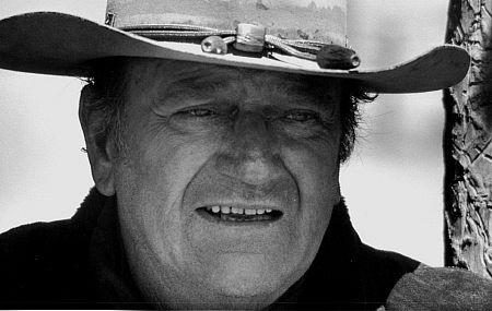 John Wayne, portrait for