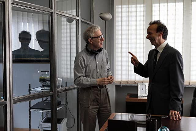 Woody Allen and Roberto Benigni in To Rome with Love (2012)