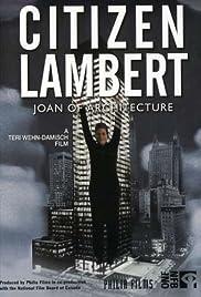 Citizen Lambert: Joan of Architecture Poster