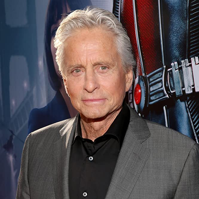 Michael Douglas at an event for Ant-Man (2015)