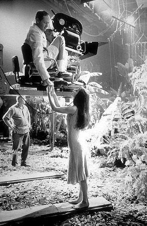 33-2317 Audrey Hepburn with husband/director Mel Ferrer on the set of