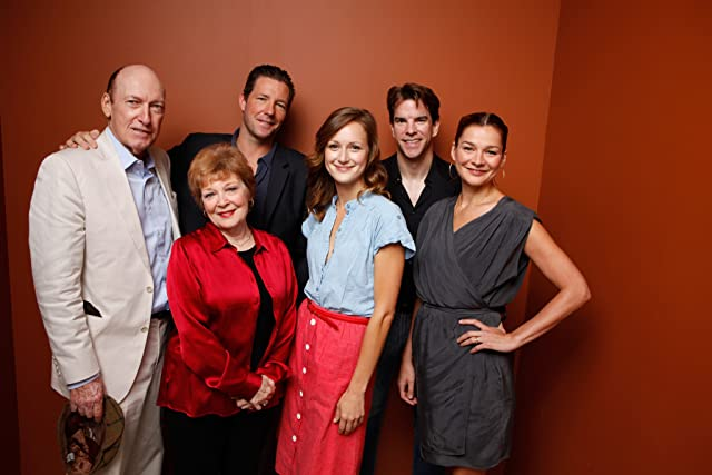 Edward Burns, Heather Burns, Anita Gillette, Ed Lauter, Michael McGlone, and Kerry Bishé at The Fitzgerald Family Christmas (2012)