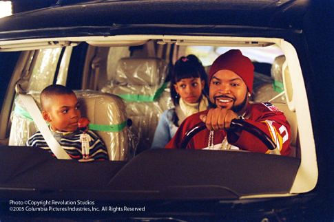 Ice Cube, Aleisha Allen, and Philip Bolden in Are We There Yet? (2005)