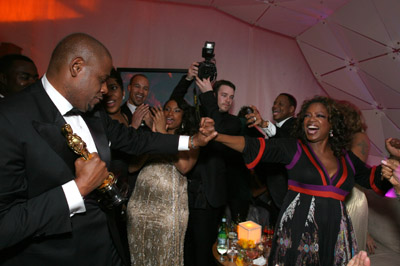 Forest Whitaker and Oprah Winfrey at an event for The 79th Annual Academy Awards (2007)