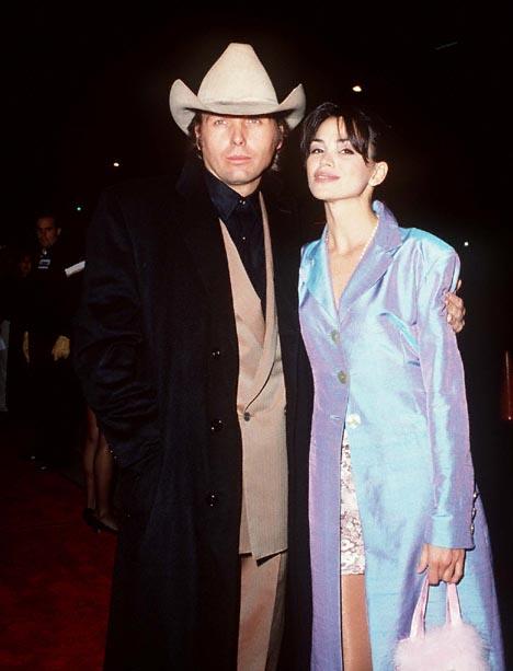 Karen Duffy and Dwight Yoakam at Dumb & Dumber (1994)