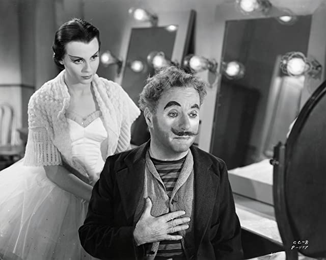 Charles Chaplin and Claire Bloom in Limelight (1952)