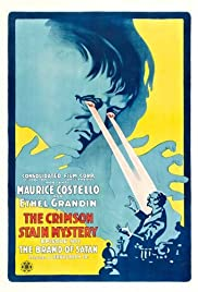 The Crimson Stain Mystery Poster