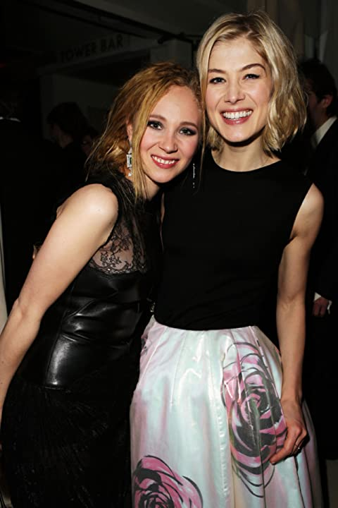 Rosamund Pike and Juno Temple